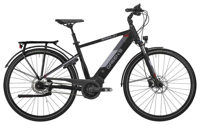 E-Bike Green's Bromley black Herren 2019