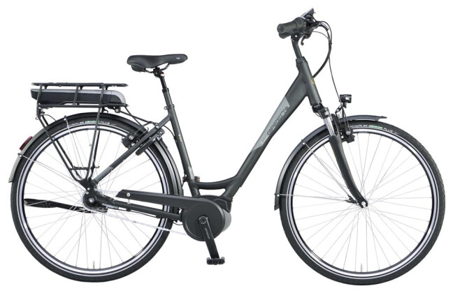 E-Bike Green's Bristol black Li-Ion 500 2019