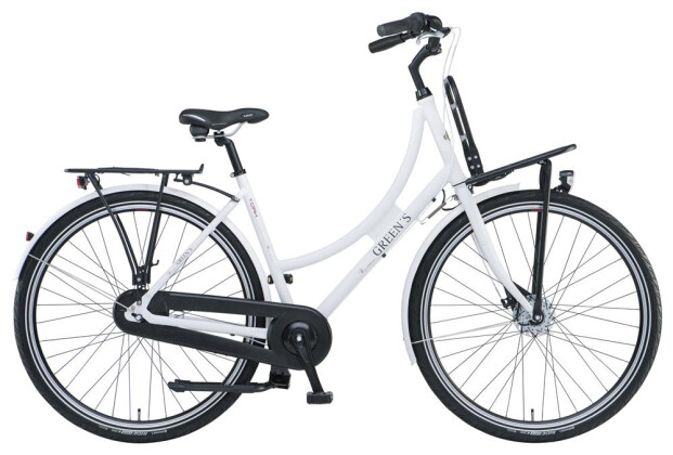 Citybike Green's York white 2019