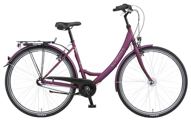 Citybike Green's Essex burgundy 2019