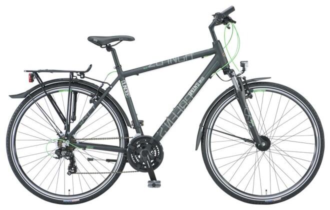 Trekkingbike Green's Dundee black Herren 21-G 2019