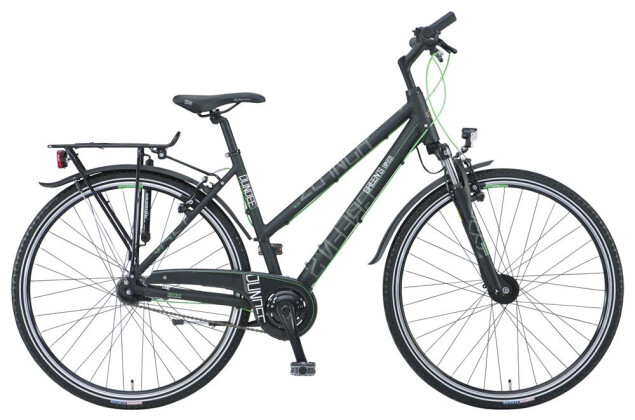 Citybike Green's Dundee black Trapez 7-G 2019