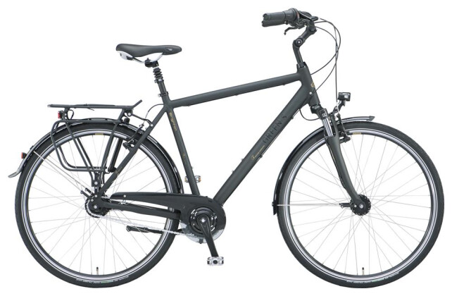 Citybike Green's Brighton black Herren 2019
