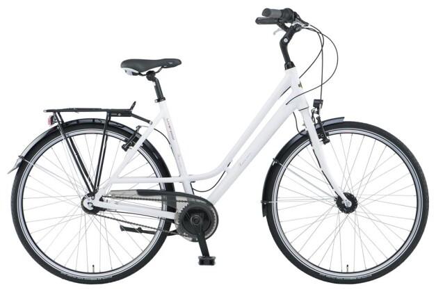 Citybike Green's Liverpool white Curve 2019