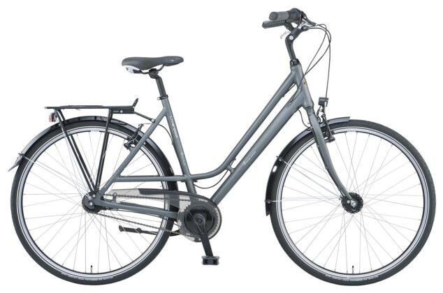 Citybike Green's Liverpool grey Curve 2019