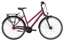 Citybike Victoria Trekking 1.7 Trapez berry red/black