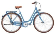 Citybike Victoria Retro 3.4  Nostalgie brilliantblue matt/brown