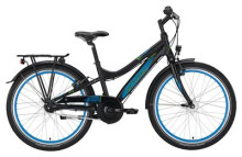 "Kinder / Jugend Victoria ATB Pro 5.7 Diamant 24"" black matt/blue"