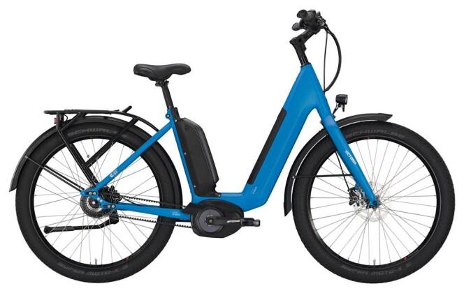 "E-Bike Victoria eUrban 13.9 Wave 27"" azurblue/black glossy 2019"