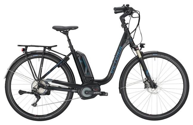 E-Bike Victoria eTrekking 8.10 Deep black matt/coolgrey 2019