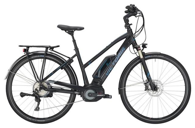 E-Bike Victoria eTrekking 8.10 Trapez black matt/coolgrey 2019