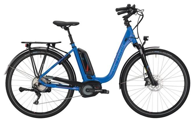 E-Bike Victoria eTrekking 8.9 Deep blue matt/red 2019