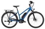 E-Bike Victoria eTrekking 8.9 Trapez blue matt/red