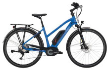 E-Bike Victoria eTrekking 8.9 Trapez blue matt/red