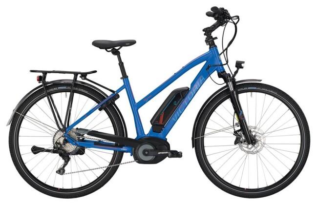 E-Bike Victoria eTrekking 8.9 Trapez blue matt/red 2019