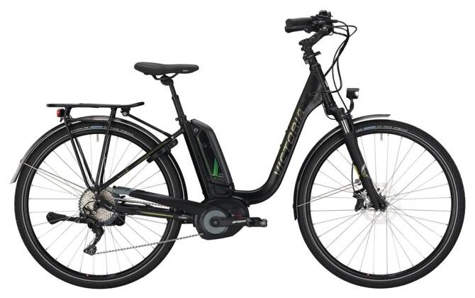E-Bike Victoria eTrekking 8.9 Deep black matt/green 2019