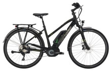 E-Bike Victoria eTrekking 8.9 Trapez black matt/green