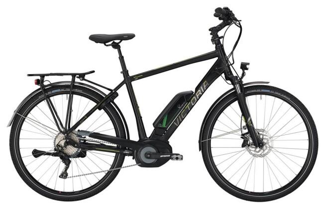 E-Bike Victoria eTrekking 8.9 Herren black matt/green 2019