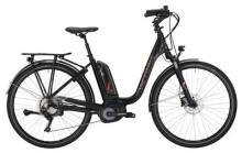 E-Bike Victoria eTrekking 8.8 Deep black matt/red