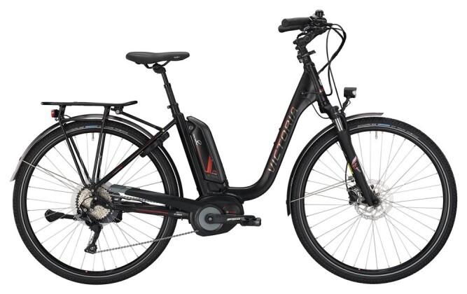 E-Bike Victoria eTrekking 8.8 Deep black matt/red 2019