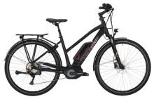 E-Bike Victoria eTrekking 8.8 Trapez black matt/red