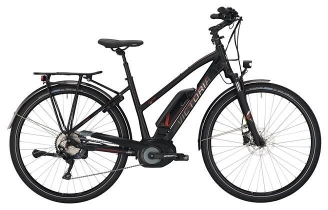 E-Bike Victoria eTrekking 8.8 Trapez black matt/red 2019