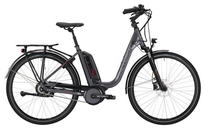 E-Bike Victoria eTrekking 7.8 Deep nickelgrey/darkred 2019