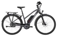 E-Bike Victoria eTrekking 7.8 Trapez nickelgrey/darkred