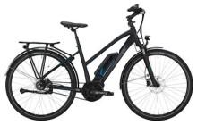 E-Bike Victoria eTrekking 7.7 Trapez black matt/skyblue