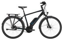 E-Bike Victoria eTrekking 7.7 Herren black matt/skyblue