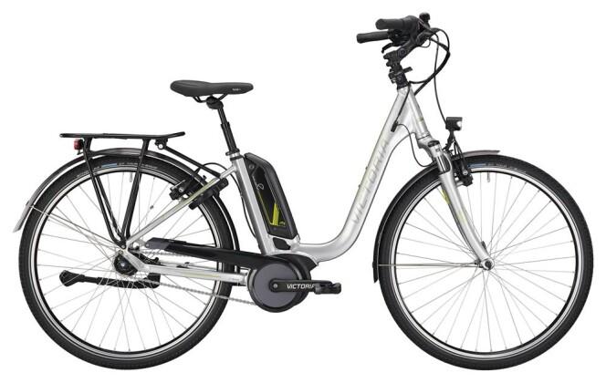 E-Bike Victoria eTrekking 7.6 Deep silver/lightapple 2019