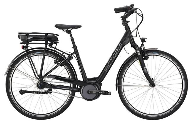 E-Bike Victoria eTrekking 7.6 Wave black matt/white 2019