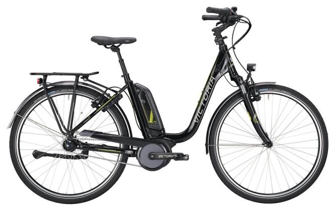 E-Bike Victoria eTrekking 7.5 Deep black/lightapple 2019