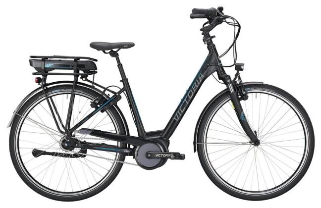 E-Bike Victoria eTrekking 7.4 Wave black matt/blue glossy 2019