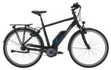 E-Bike Victoria eTrekking 7.4 Herren black matt/blue glossy
