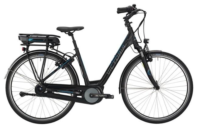 E-Bike Victoria eTrekking 7.4 H Wave black matt/blue glossy 2019