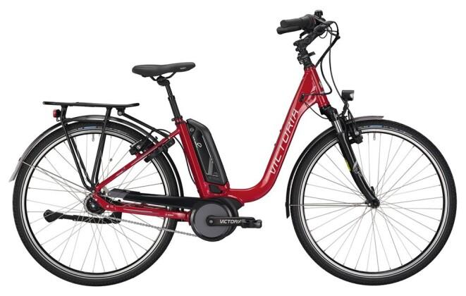 E-Bike Victoria eTrekking 7.3 Deep red/silver 2019