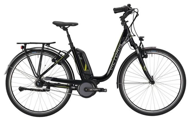 E-Bike Victoria eTrekking 7.3 Deep black/lightapple 2019