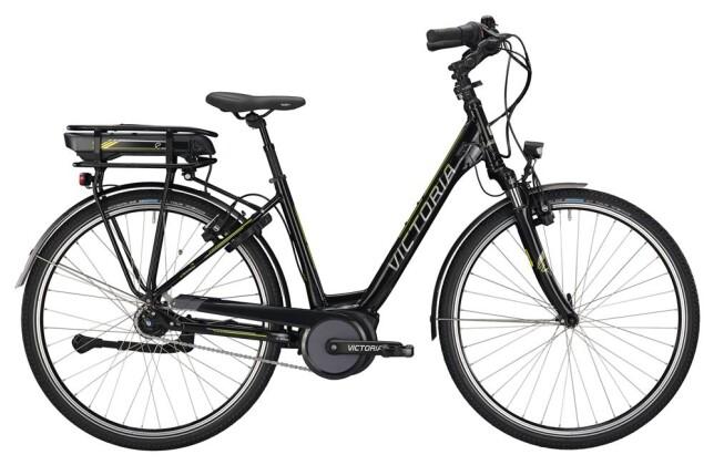 E-Bike Victoria eTrekking 7.3 Wave black/lightapple 2019