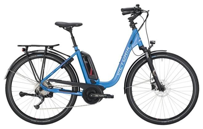 E-Bike Victoria eTrekking 6.4 Deep jeansblue/shinewhite 2019
