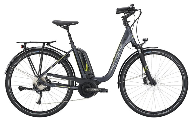 E-Bike Victoria eTrekking 6.4 Deep darkgrey matt/yellow 2019