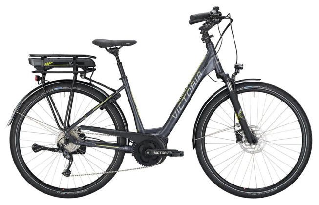 E-Bike Victoria eTrekking 6.4 Wave darkgrey matt/yellow 2019