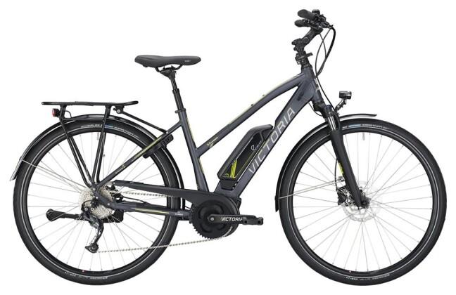 E-Bike Victoria eTrekking 6.4 Trapez darkgrey matt/yellow 2019