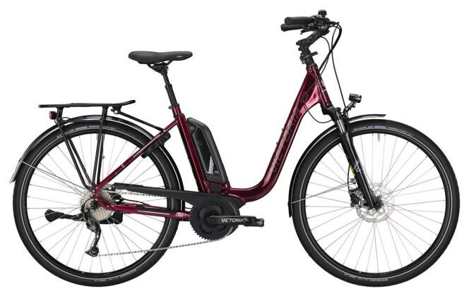 E-Bike Victoria eTrekking 6.3 Deep blackberry/white 2019