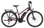 E-Bike Victoria eTrekking 6.3 Trapez blackberry/white