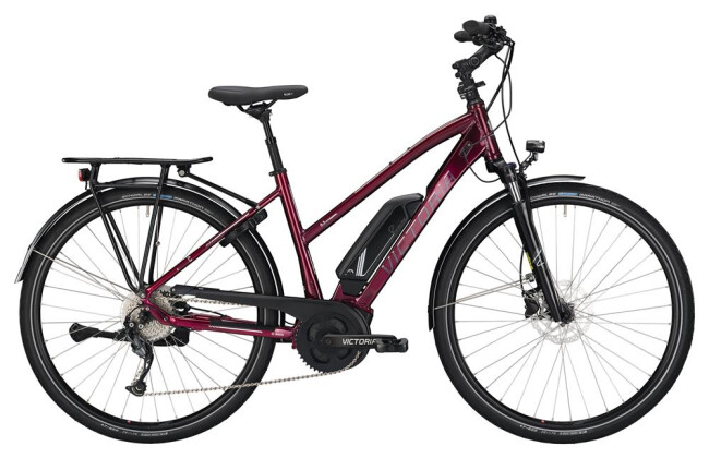 E-Bike Victoria eTrekking 6.3 Trapez blackberry/white 2019