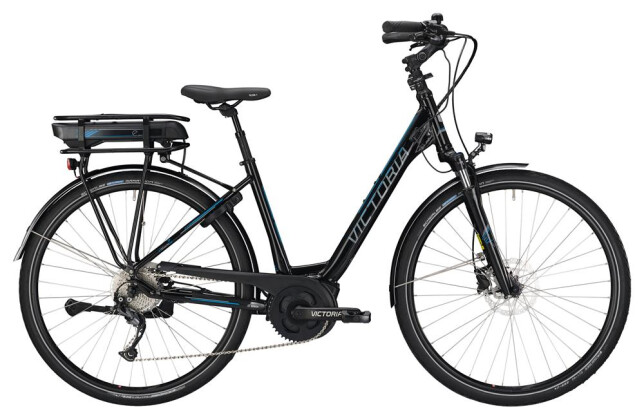 E-Bike Victoria eTrekking 6.3 Wave black/skyblue 2019