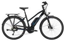 E-Bike Victoria eTrekking 6.3 Trapez black/skyblue