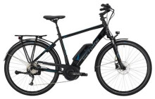 E-Bike Victoria eTrekking 6.3 Herren black/skyblue
