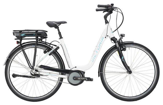 E-Bike Victoria eTrekking 5.10 SE Deep mistywhite/coolgrey 2019
